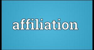 affiliation