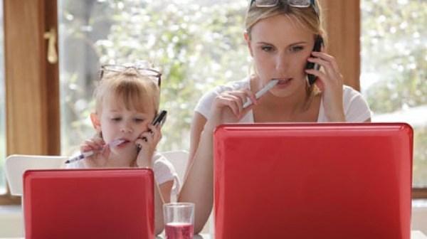 travail à domicile mamans