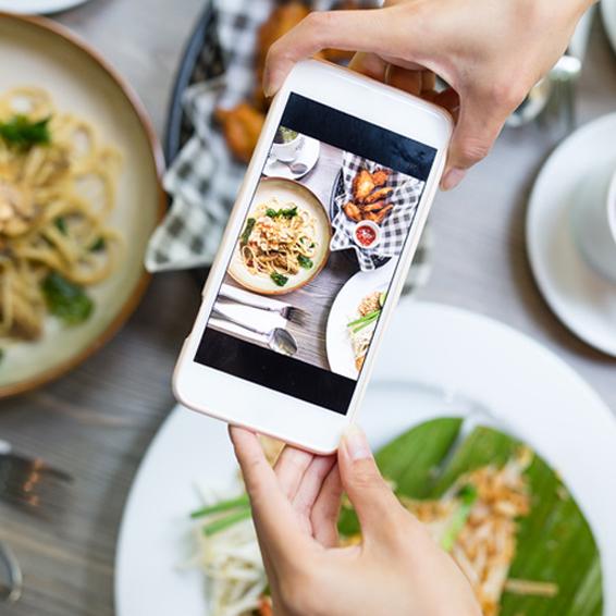 instagram gastronomie